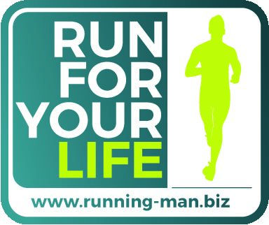 RUN FOR YOUR LIFE logo